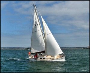V99 Corio Vertue sailing in Westernport - Victoria, Australia in 2009