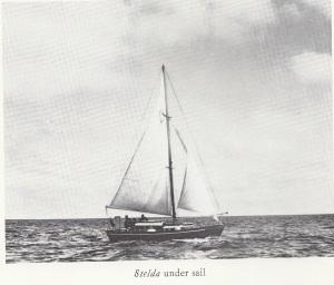 V120 Stelda under sail