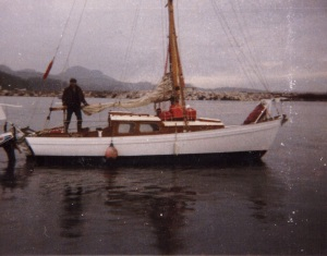 Kanui & Russell setting off on their travels from Alaska